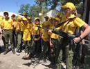 Учащиеся Ермаковской школы в военно – историческом лагере «Победа»