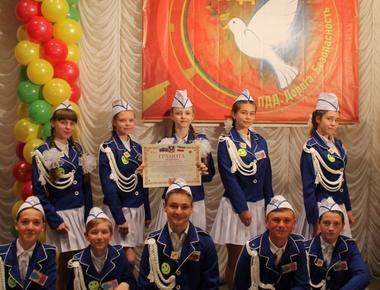 ЮИДовцы  Тацинской школы № 3 первые